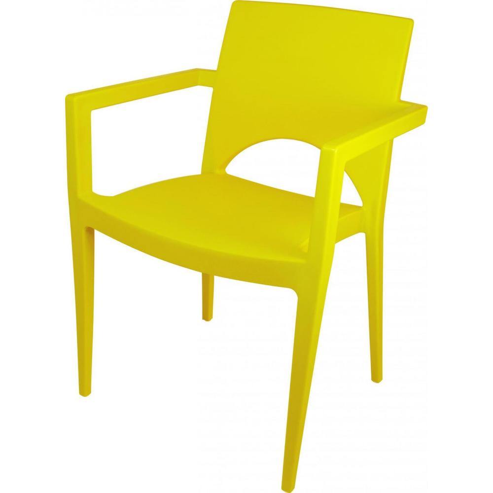 Poltrona-Casabella-Amarela-Plasutil
