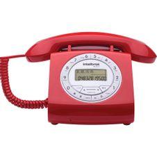 Telefone-Com-Fio-Vermelho-TC8312-Intelbras