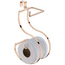 Porta-Papel-Higienico-para-Caixa-Acoplada-Duplo-Rose-Gold-LFuture