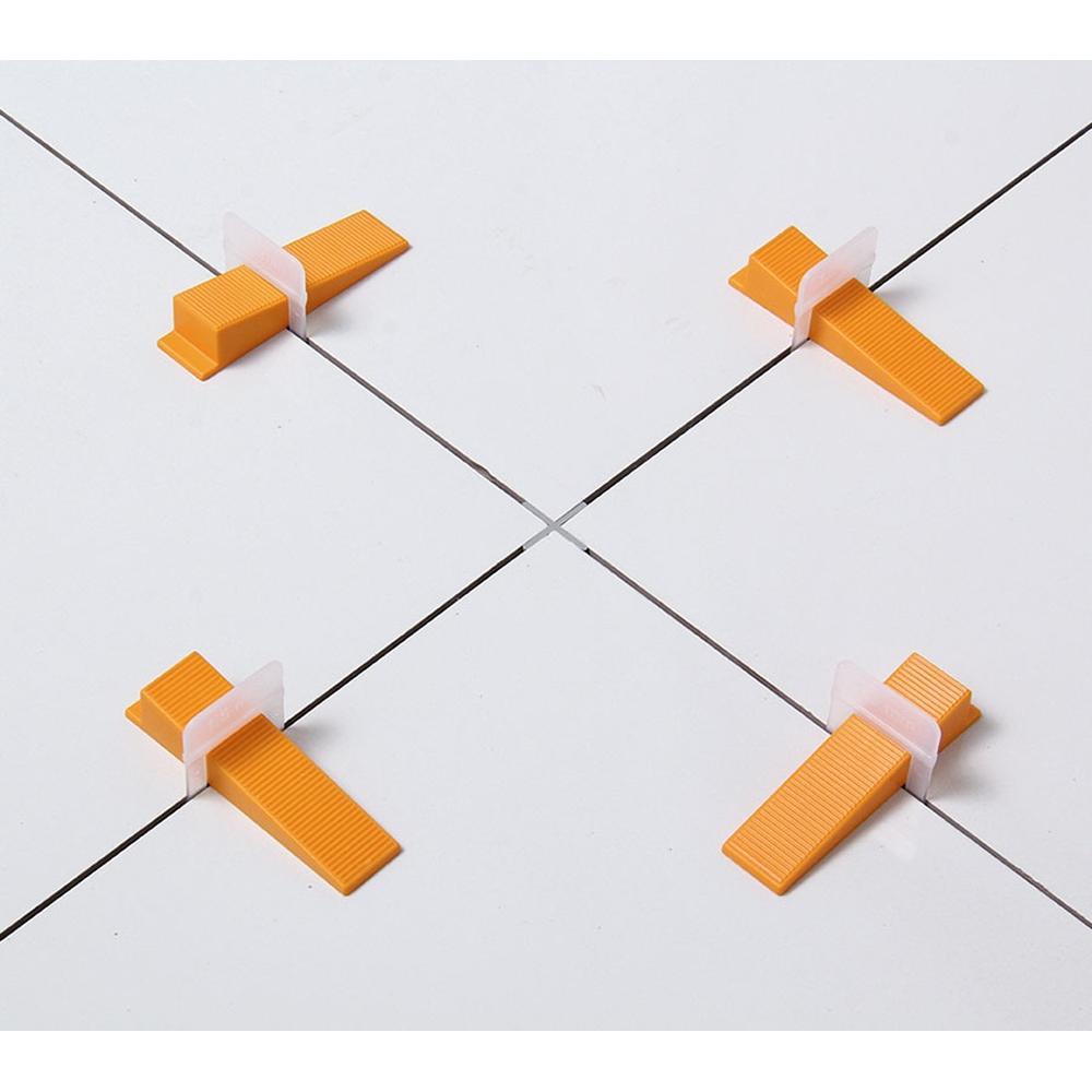Cunha-para-Nivelamento-de-Revestimento-com-50-Unidades-Cortag