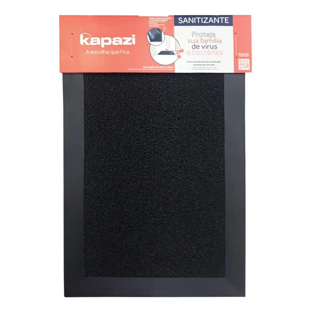 Tapete-Sanitizante-58x38cm-Preto-com-Borda-Kapazi