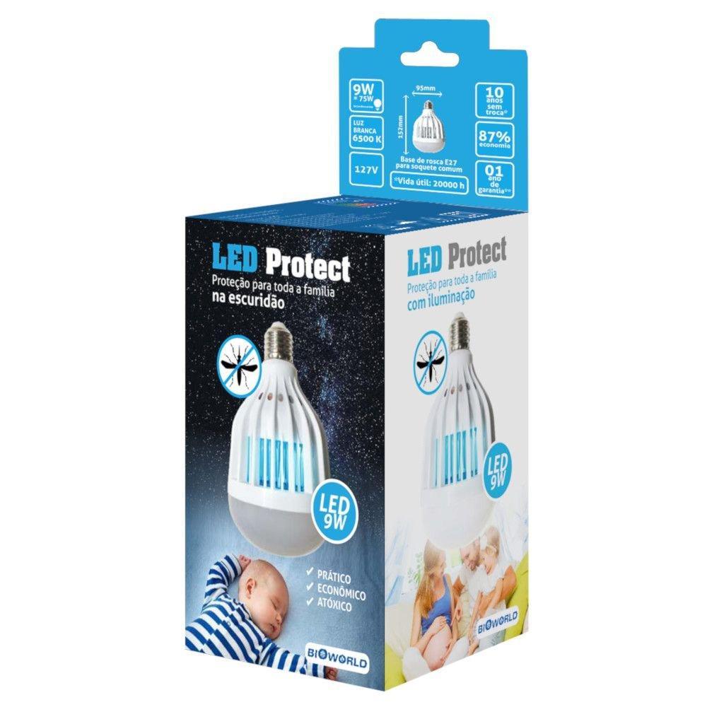 Lampada-Led-9W-Luz-Branca-220V-Led-Protect
