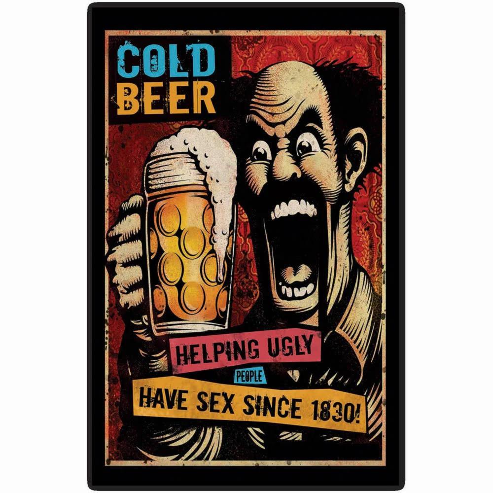 Placa-Cold-Beer-de-MDF---Cia-Laser
