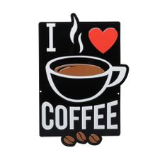 Placa-Aluminio-Recorte-Expresso-Love-Coffee---Urban