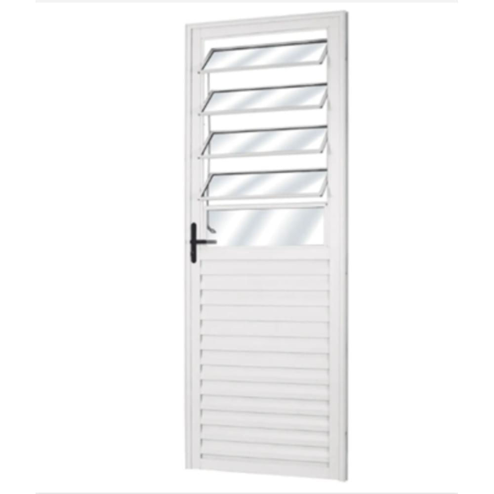 Porta-de-Aluminio-210x080m-Basculante-Direita-Branca-Lider