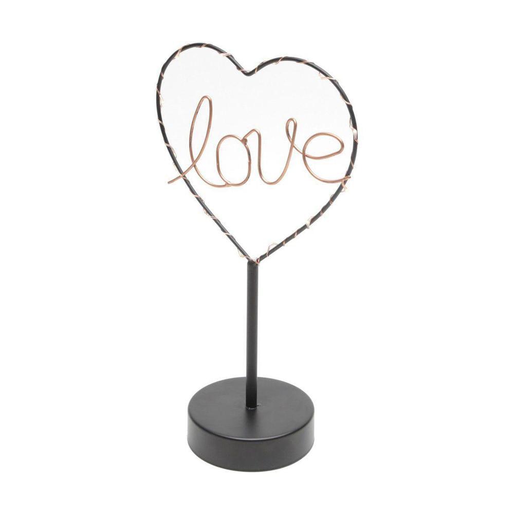 Luminaria-de-Mesa-Love-Heart-com-Led-Preto-Urban