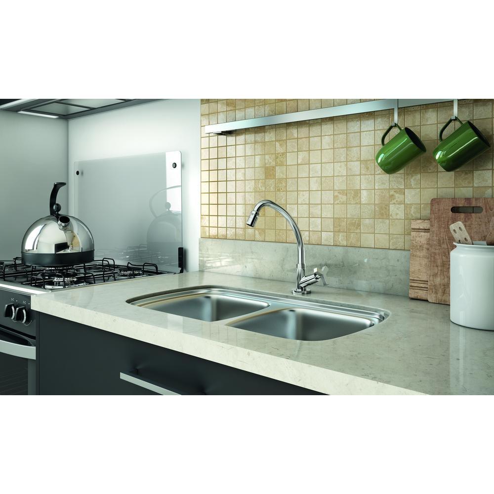 Torneira-de-Cozinha-para-Pia-Bica-Alta-Cromado-Up-Celite