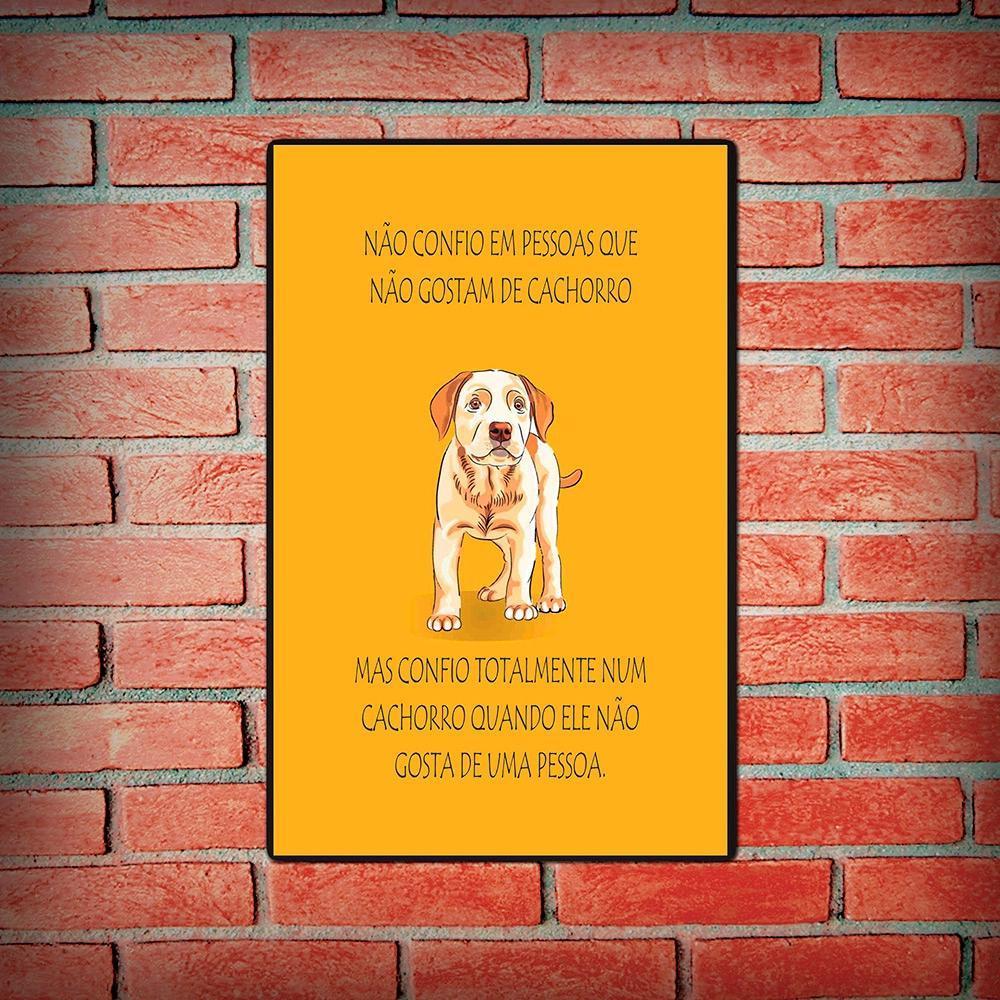 Placa-Decorativa-Cachorro-Amarelo-20x30cm-Cia-Laser