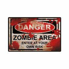 Placa-Decorativa-Zombie-Zone-20x30-cm---Cia-Laser