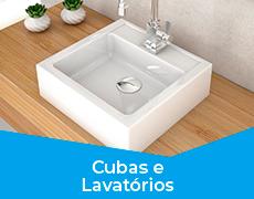 Banheiro 2 Cubas e Lavatórios