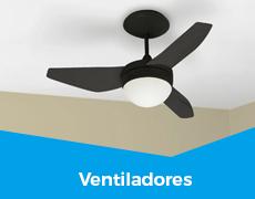 Climatização 4 ventiladores