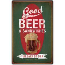 PLACA-GOOD-BEER---SANDWICHES-CIA-LASER-.-.-UN0001UN