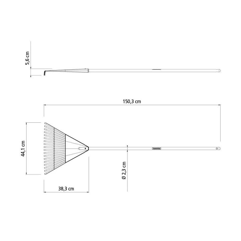 Vassoura-120cm-com-18-Dentes-Preto-Cabo-de-Madeira-Tramontina