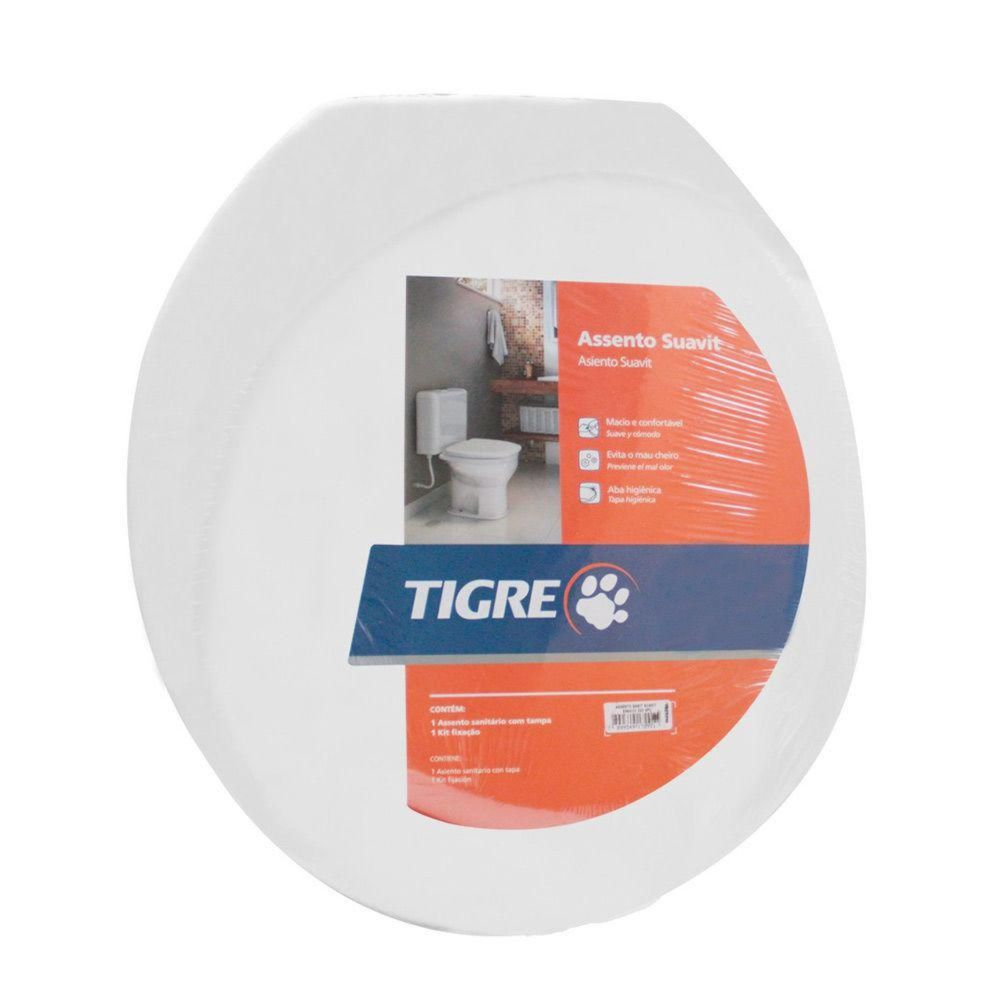 Assento-Sanitario-Almofadado-Convencional-Polipropileno-Branco-Tigre