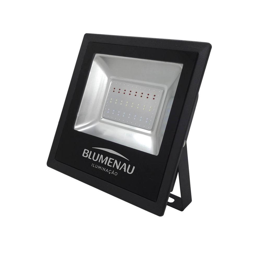 Refletor-Led-Preto-50w-Luz-Branca-Bivolt-Slim-Blumenau