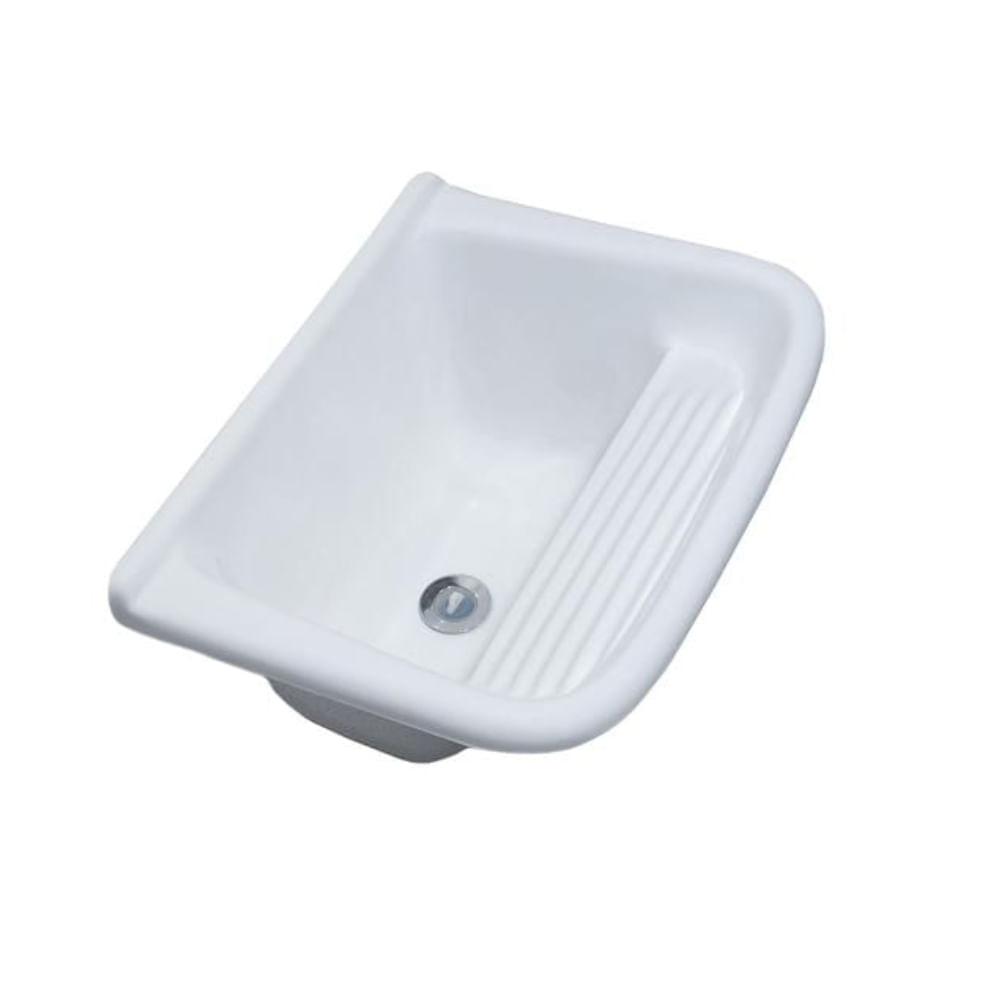 Tanque-Simples-50x40-Branco-Marmore-Sintetico-Decoralita