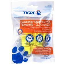 Conector-Eletrico-25-a-4mm²-Amarelo-Tigre