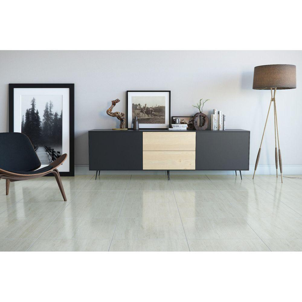 Ceramica-57x57cm-Brilhante-Borda-Arredondada-Travertino-Lux-Cerbras