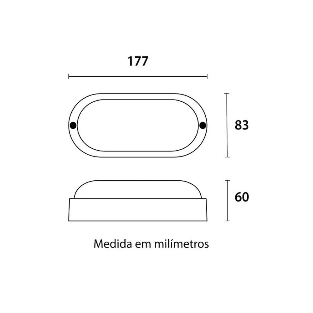 Luminaria-Tartaruga-12w-Clean-Easy-6500k-Branco-Blumenau
